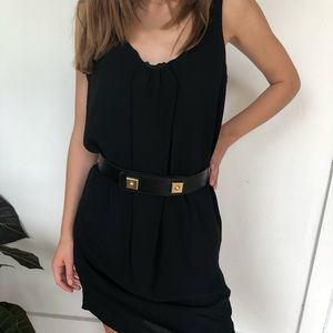 Theory black dress ( belt not included)
